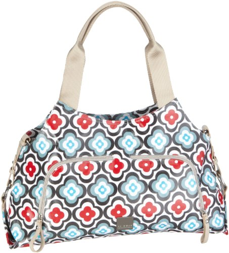 JJ Cole Collections Technique Diaper Bag, Red Flower