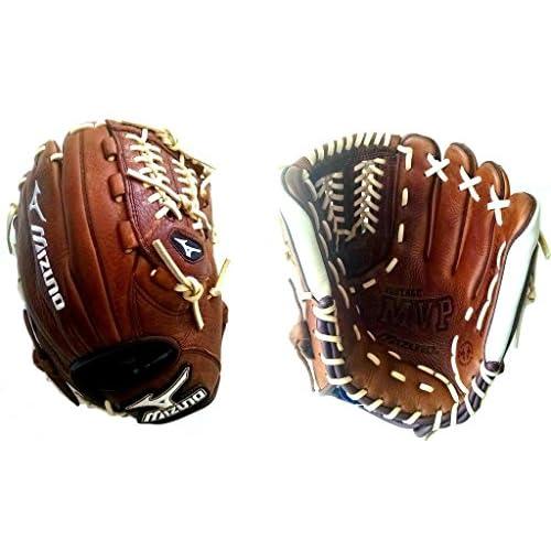 "Mizuno GMVP1175V RHT 11.75"" MVP Vintage Baseball Infield/P Glove Righty"