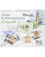 Villes et Architecture à l'aquarelle