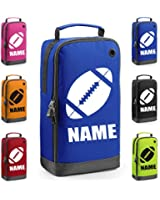 GoGo Personalised Rugby Boot Bag with Carry Handle - Rugby Themed