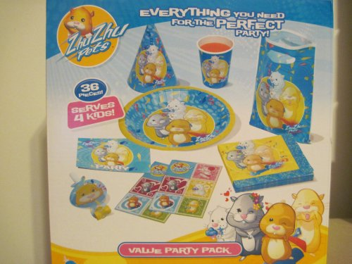 51eFhOilLeL Buy  Zhu Zhu Pets Value Party Pack