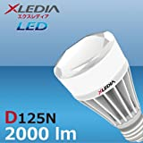 XLEDIA D125N-Diamond Series(A19,125W Equivalent,2000 lm,Cool White,Omin+Enclosed)