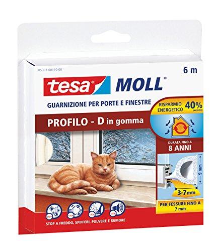 tesa-05393-00110-00-guarnizione-in-gomma-per-porte-e-finestre-profilo-d-bianco