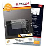 AtFoliX FX-Antireflex screen-protector for Panasonic Lumix DMC-GX7 (3 pack) - Anti-reflective screen protection!