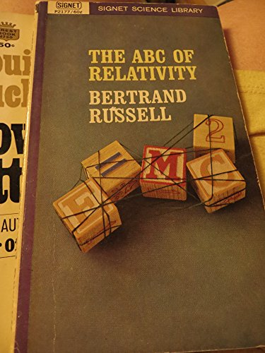 Russell Bertrand : ABC of Relativity (4th Rev.Edn) (Mentor Series)