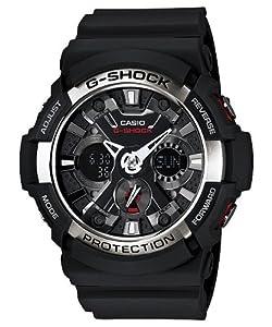 Casio G Shock Analog Digital Black Dial Men's Watch - GA200-1A
