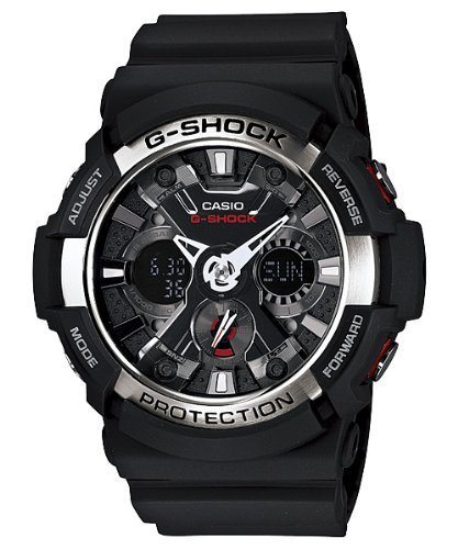 Casio G Shock Analog Digital Black Dial Men's Watch - GA200-1A