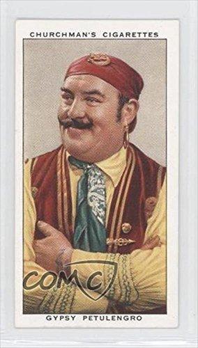 Gypsy Petulengro (Trading Card) 1938 Churchman's In Town To-Night Tobacco [Base] #33