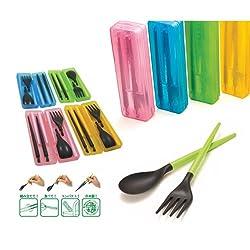 Multipurpose Tableware Combination Chopsticks Scoop Fork