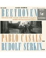 Pablo Casals plays Beethoven Sonatas for Cello and Piano