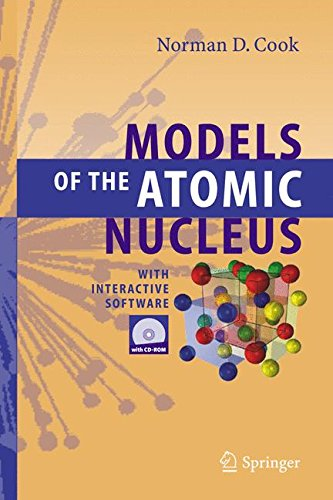 Book: Models of the Atomic Nucleus - With Interactive Software by Norman D. Cook