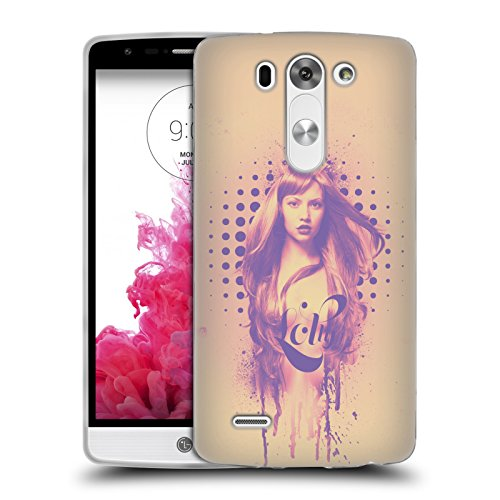 "Ufficiale Pete ""Aeiko"" Harrison Lolly Lavoro Fashion Cover Morbida In Gel Per LG G3 S / G3 Beat / G3 Vigor"