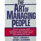 The Art of Managing People ~ Tony Alessandra