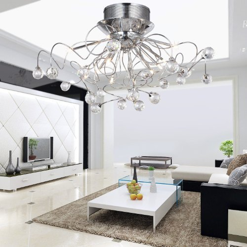 alfredr-with-crystal-chandelier-with-11-lights-chrome-modern-modern-chandeliers-flush-mount-ceiling-