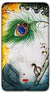 The Racoon Lean Krishna hard plastic printed back case / cover for Nokia Lumia 625
