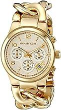 Michael Kors MK3131 - Reloj de cuarzo con correa de acero inoxidable para mujer, color dorado