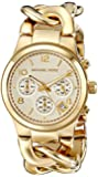 Michael Kors Women's MK3131 Runway Analog Display Analog Quartz Gold Watch