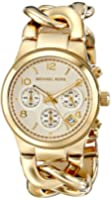 Michael Kors Collection Women's MK3131 - Runway Twist Chronograph Gold Watch