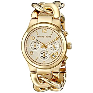 Michael Kors Women's Runway Gold-Tone Watch MK3131