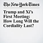 Trump and Xi's First Meeting: How Long Will the Cordiality Last? | Michael D. Shear,Mark Landler