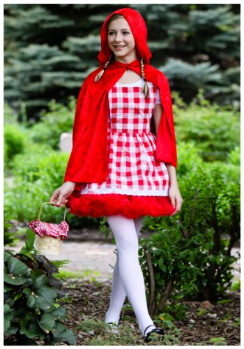 Teen Little Red Riding Hood Tutu (Teen) (Red Riding Hood Cape For Teens compare prices)