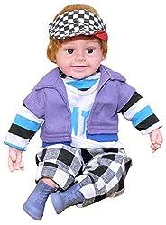 Zest 4 Toyz Realstic Baby Boy Singing 5 Poems Toy Friend for Kids