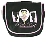 Black and Pink Betty Boop Wild Beauty Messenger Laptop Bag