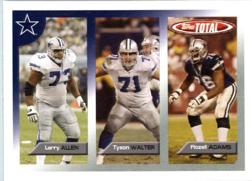 2005 Topps Total Football Karte ( ) # 27 Tyson Walter Dallas Cowboys