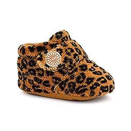UGG Infant Bixbee Leopard Boot, Chestnut Leopard, Size 0/1
