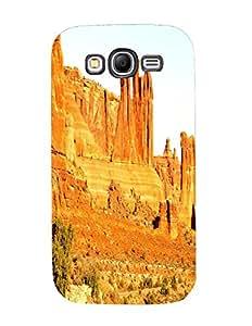 Bagsfull Designer Printed Matte Hard Back Cover Case For Samsung Galaxy Grand 9082