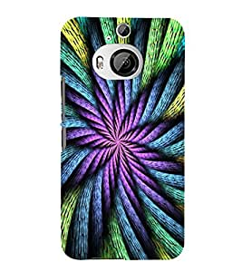 ABSTRACT INTERTWINED ROPES PATTERN 3D Hard Polycarbonate Designer Back Case Cover for HTC One M9+ :: HTC One M9 Plus