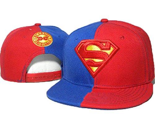 Marvel Superman cappelli cappello registrabile di baseball (rosso)