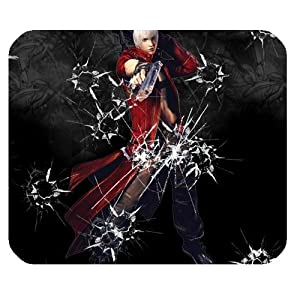 Custom Devil May Cry Mouse Pad Standard Rectangle Mousepad WP-1566