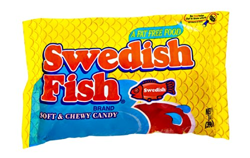Swedish Fish Fat Free Soft Chewy Candy 14 Oz Pack Of
