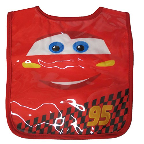 Infant Disney Cars Red Bib Burp 0-12 Months [5011] - 1
