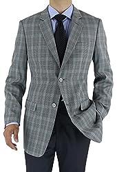 Marzzotti Rossi Modern Fit Men's Suit Jacket Two Button Sport Blazer