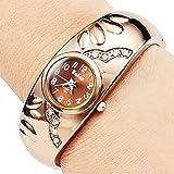 En mšŠtal de style Soleasy femmes Bracelet Quartz Analogique Horloge WTH8022