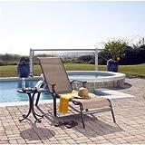 Panama Jack Island Breeze Sling 2 PC Lounge set (1 Chaise Lounge & End Table)