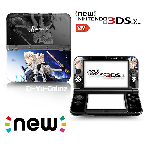 Ci-Yu-Online VINYL SKIN [new 3DS XL] - Fire Emblem Fates: Birthright and Conquest #4 - Limited Edition STICKER DECAL COVER for NEW Nintendo 3DS XL / LL Console System (Fire Emblem Sticker compare prices)