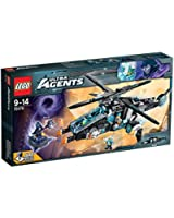 Lego Ultra Agents - 70170 - Jeu De Construction - Ultracopter Contre Antimatière
