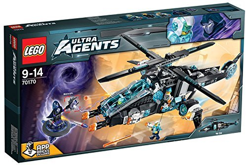 Lego Ultra Agents 70170 - Ultracopter versus Antimatter