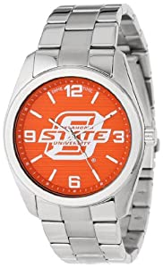 Game Time Unisex COL-ELI-OKS Elite Oklahoma State University 3-Hand Analog Watch by Game Time
