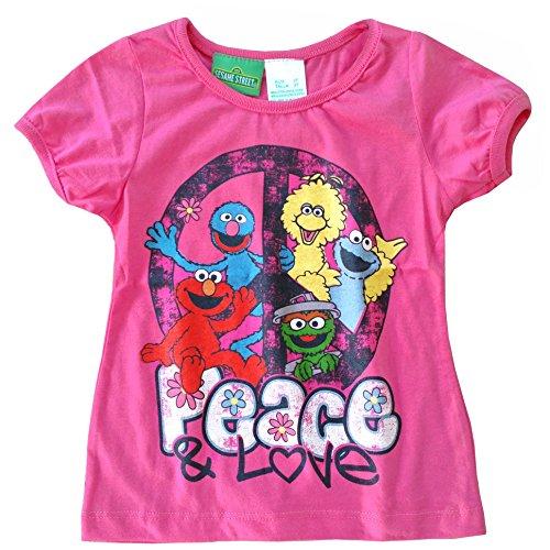 "Sesame Street ""I Love Elmo"" Glitter T-Shirt - 3T front-965698"