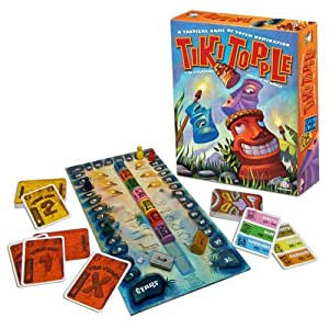 Tiki Topple, a Tactical Game of Totem Domination