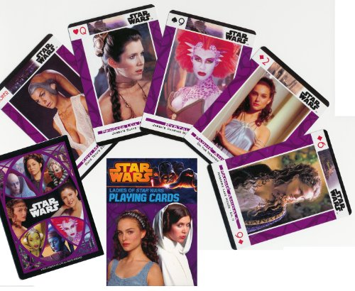Ladies of Star Wars Playing Cards 2013 Edition - Featuring 55 Different Photo... - 1