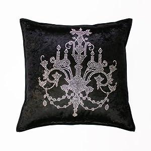 Amazon.com - Chandeliers rhinestone Stud Velvet Pillow Cover 19