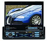Boss BV9996B In-Dash 7-Inch DVD/MP3/CD Widescreen Receiver with USB, SD Card, Bluetooth and Front Panel AUX Input (Detachable Front Panel)