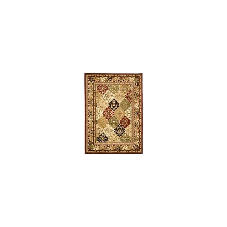 Safavieh Rugs Lyndhurst Collection LNH221B 8SQ Multi/Red 8