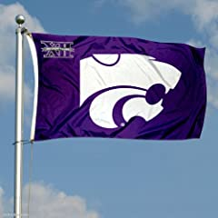 Buy Kansas State Wildcats Big 12 3x5 Flag by College Flags and Banners Co.