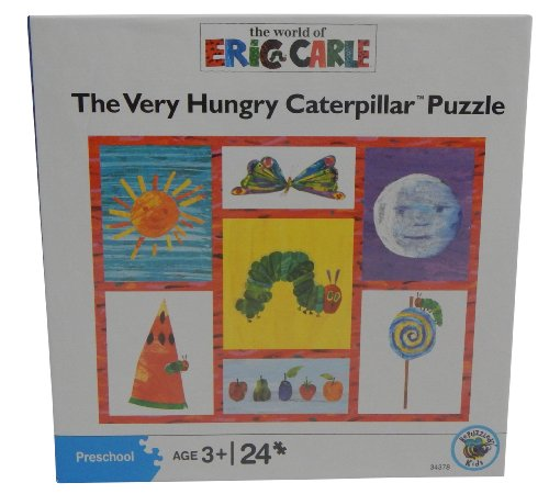 The Very Hungry Caterpillar 24 Piece Puzzle, By the Wolrd of Eric Carle